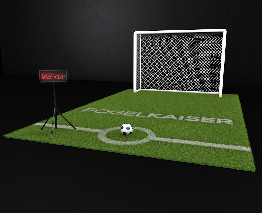 geschwindigkeitsmessgerät fussball